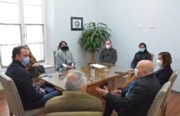 Francisco Ratto se reunió con el director de Planificación de la DPAO y PA