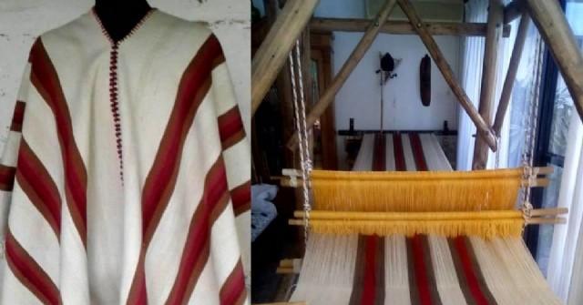 La historia del poncho arequero: mixtura de colores, texturas e identidades