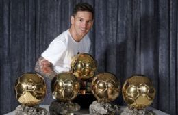 Messi, el Balón de oro por excelencia
