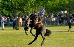 Habrá despliegue de destrezas gauchas en el Parque Criollo.