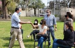 Francisco Ratto estuvo con los alumnos que comenzarán sus prácticas en la Municipalidad