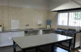 La cocina del Hospital Zerboni, totalmente renovada