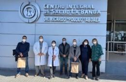 El equipo de Salud de Areco viajó a Santiago del Estero para abordar el tema de la pandemia