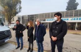 Kreplak visitó Pergamino, Baradero y San Antonio de Areco