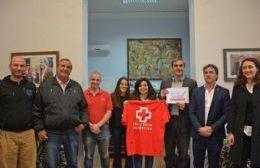Acuerdo entre el municipio y Cruz Roja Argentina