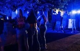"""La policía desactivó una """"fiesta clandestina"""" en el Camino El Yameo"""
