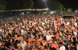Los turistas disfrutaron de las diversas actividades en el marco de los festejos de carnaval.