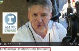 Dardo Lizarraga, un capo de Monsanto con sueldo en negro y con cuentas sumamente oscuras
