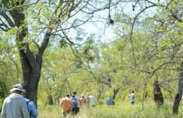 Se realizó una visita guiada de la reserva para reactivar el turismo